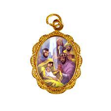 Medalha de Alumínio - Três Reis Magos - Mod. 01