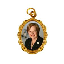 Medalha de Alumínio - Zilda Arns