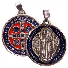 Imagem - Medalha de São Bento Grande - 2,5 cm cód: 13663914-20