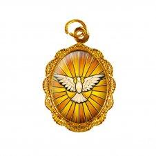 Imagem - Medalha de Alumínio - Divino Espírito Santo Mod. 2 - MA27-2
