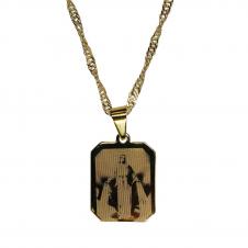 Imagem - Medalha Nossa Senhora das Graças Folheada a Ouro cód: 10117168