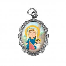 Imagem - Medalha de alumínio - Maria Passa na Frente Infantil cód: 514270991772