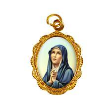 Imagem - Medalha de alumínio - Nossa Senhora das Dores - Mod. 2 - 18513361-19