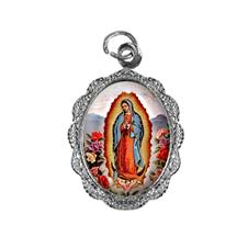 Imagem - Medalha de Alumínio - Nossa Senhora da Guadalupe - Mod. 01 cód: 18761896-20