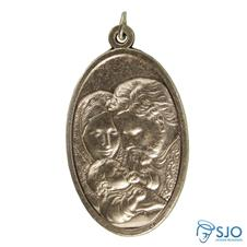 Medalha Oval Sagrada Família