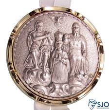 Medalhão de Berço do Divino Pai Eterno