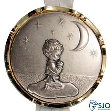 Imagem - Medalhão de Berço Menino Orando - 16716624