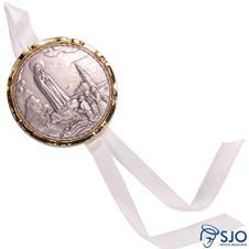 Imagem - Medalhão de Berço Nossa Senhora de Fátima cód: 12425695