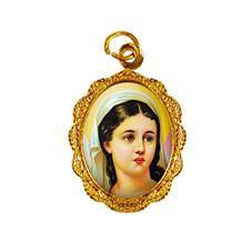 Imagem - Medalha de Alumínio - Santa Luzia - Mod. 02 - 18279220-19