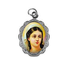 Imagem - Medalha de Alumínio - Santa Luzia - Mod. 02 cód: 18279220-20