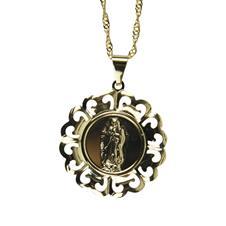 Imagem - Colar com Medalha de Nossa Senhora Guadalupe cód: 39737738-5-1