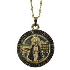 Imagem - Colar com Medalha de Aparecida cód: 13181352-9
