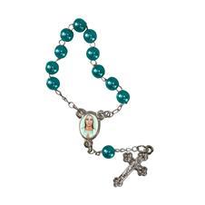 Imagem - Mini terço com foto de Nossa Senhora Rainha da Paz cód: 10539087-26