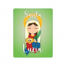 Imagem - Mousepad Santa Luzia Infantil cód: MSLI