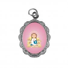 Imagem - Medalha de Alumínio Nossa Senhora da Imaculada Conceição Infantil cód: MANSICID