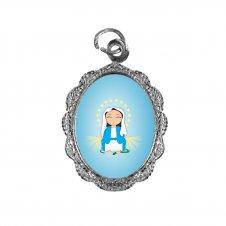 Imagem - Medalha de Alumínio Nossa Senhora das Graças Infantil cód: MANSGIN