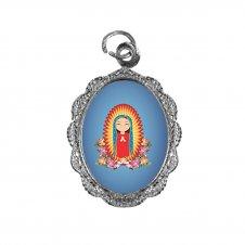 Imagem - Medalha de Alumínio Nossa Senhora da Guadalupe Infantil cód: MANSGI2N
