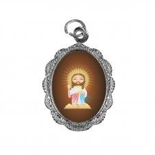 Imagem - Medalha de Alumínio Jesus Misericordioso Infantil cód: MAJMIN