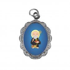 Imagem - Medalha de Alumínio São Bento Infantil  cód: MASBIN