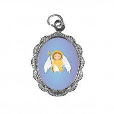 Imagem - Medalha de Alumínio São Rafael Infantil cód: MASRI2N