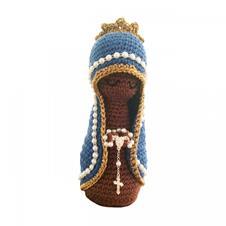 Imagem - Boneco de Crochê - Nossa Senhora Aparecida cód: BCNSA