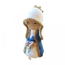 Imagem - Boneco de Crochê - Nossa Senhora das Graças cód: BCNSG