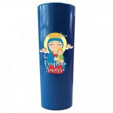 Imagem - Copo Long Drink Nossa Senhora do Perpétuo Socorro Infantil cód: CLDNSPSIA