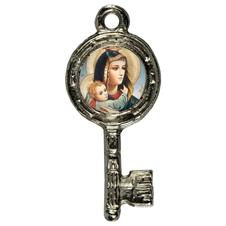 Imagem - Pingente Chavinha Nossa Senhora da Abadia cód: 15947828-1