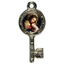 Imagem - Pingente Chavinha Nossa Senhora da Divina Providência cód: 15947829-7