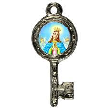 Imagem - Pingente Chavinha Nossa Senhora da Guia cód: 15947830-5