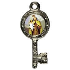 Imagem - Pingente Chavinha Nossa Senhora do Carmo cód: 15947829-1