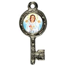 Imagem - Pingente Chavinha Nossa Senhora Rosa Mística cód: 15947831-6