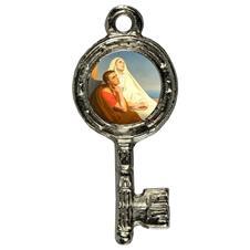 Imagem - Pingente Chavinha Santa Mônica e Santo Agostinho cód: 15947834-8