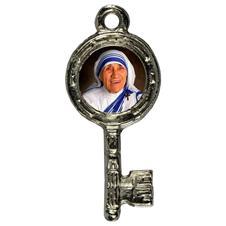 Imagem - Pingente Chavinha Santa Madre Teresa de Calcutá cód: 15947834-6