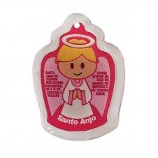 Imagem - Pingente Cristal para Chaveiros e Colares - Santo Anjo Infantil cód: PC-01-SAR