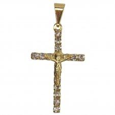 Imagem - Pingente de Crucifixo com Strass cód: 15391783
