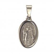 Imagem - Medalha Oval de Inox de Santo Expedito cód: 16920344