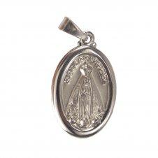 Imagem - Medalha Oval de Inox de Nossa Senhora Aparecida cód: 17596743