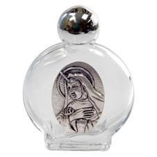 Imagem - Porta água benta com medalha de Santa Rita - 5 cm cód: 19925520