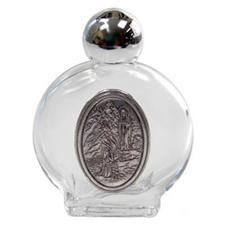 Porta água benta com medalha Nossa Senhora de Fátima - 5 cm