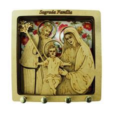 Imagem - Porta Chave de MDF Sagrada Família - 00087450-2
