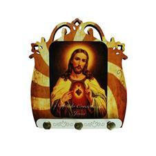 Porta-Chave de Sagrado Coração de Jesus