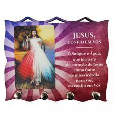 Imagem - Porta Chave de Jesus Misericordioso cód: PCJM
