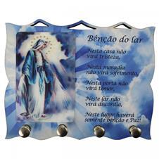 Imagem - Porta Chave de Nossa Senhora das Graças cód: PCNDC