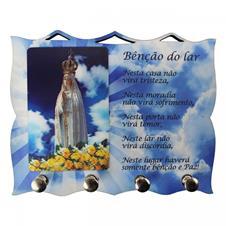 Imagem - Porta Chave de Nossa Senhora de Fátima cód: PCNSF