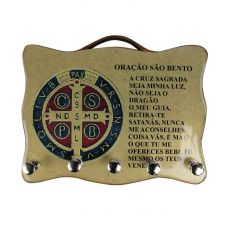 Imagem - Porta Chave - Medalha de São Bento - 02 cód: 17116537