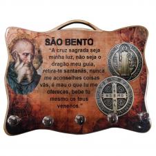 Imagem - Porta Chave - Medalha de São Bento  cód: 19500490
