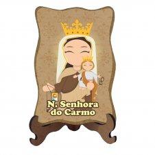 Imagem - Porta Retrato Nossa Senhora do Carmo Infantil cód: