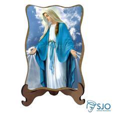Imagem - Porta-Retrato Nossa Senhora das Graças - Modelo 3 - 12910869