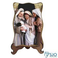 Imagem - Porta-Retrato Santa Isabel e Zacarias cód: 13423677